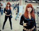 Plu moon (Brasileira) Viúva negra (black widow) cosplay