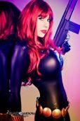 Crystal Graziano cosplay gostosa viúva negra 2