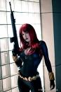Crystal Graziano cosplay gostosa viúva negra