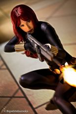 Crystal Graziano cosplay viúva negra black widow sexy (2)