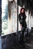 Giorgia Cosplay Viúva Negra gata gostosa black widow (5)