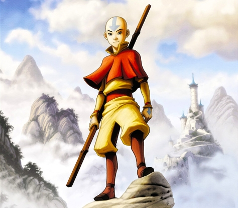 lenda de aang Avatar_Aang_-_wallpaper
