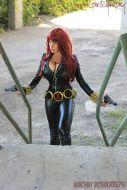 Naomi Von Kreeps Cosplay viuva negra peitoes gostosa 7