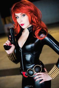 Nikita Cosplay Viúva Negra (Black Widow)