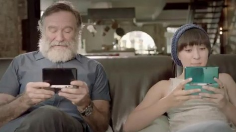 robin williams e zelda wall