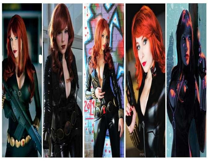 Viúva Negra Cosplay (Black Widow) – Gatas da Semana Especial