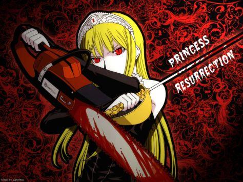 Princess Resurrection manga motoserra