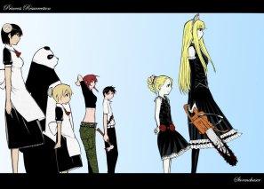 Imagem do OVA que foi mais fiel ao mangá.