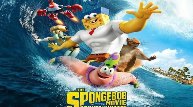 Novo Trailer DUBLADO do Filme – Bob Esponja: Um Herói Fora d'Água