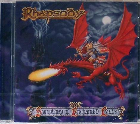 rhapsody Symphony Of Enchanted Lands cd
