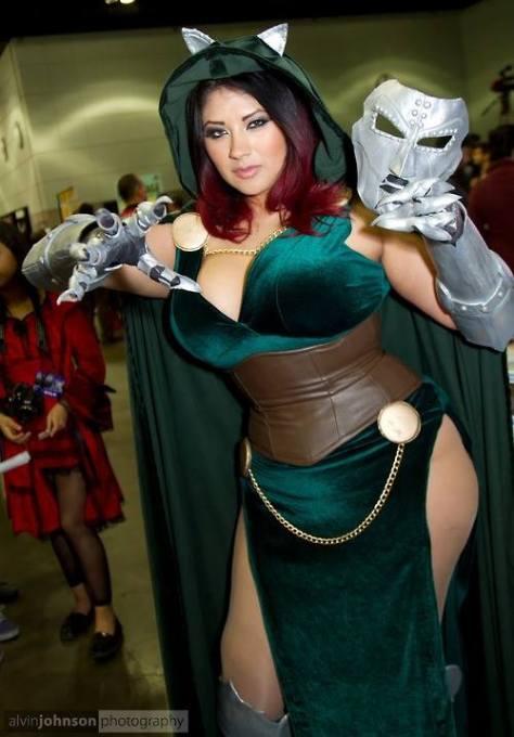 Ivy Doomkitty cosplay dr Doom -- o clássico da cosplayer!