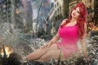 Ivy doomkitty cosplay giganta sexy