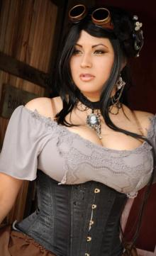 Ivy doomkitty cosplay steampunk sexy 1
