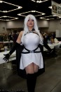 Ivy Doomkitty Cosplay Storm Tempestade sexy
