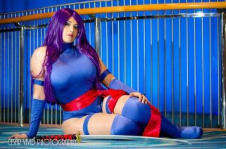 Ivy Doomkitty Psylocke cosplay