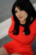 Ivy Doomkitty Uhura cosplay star trek sexy 1