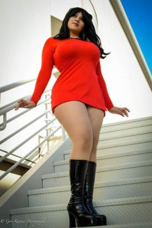 Ivy Doomkitty Uhura cosplay star trek sexy 3