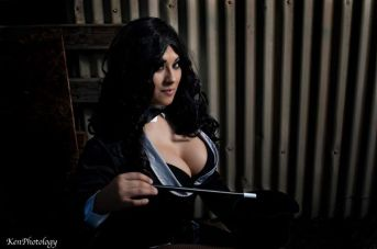 Ivy Doomkitty Zatanna cosplay