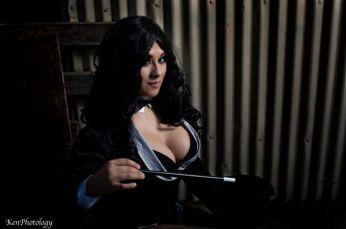 Ivy Doomkitty Zatanna cosplay