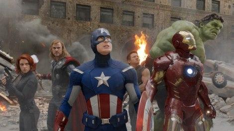 Scarlett-Johansson-Chris-Hemsworth-Chris-Evans-Jeremy-Renner-Iron-Man-and-The-Hulk-in-The-Avengers-2012-Movie-Image