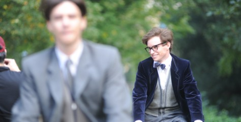 24/09/13 First day of filming around re Stephen Hawking film