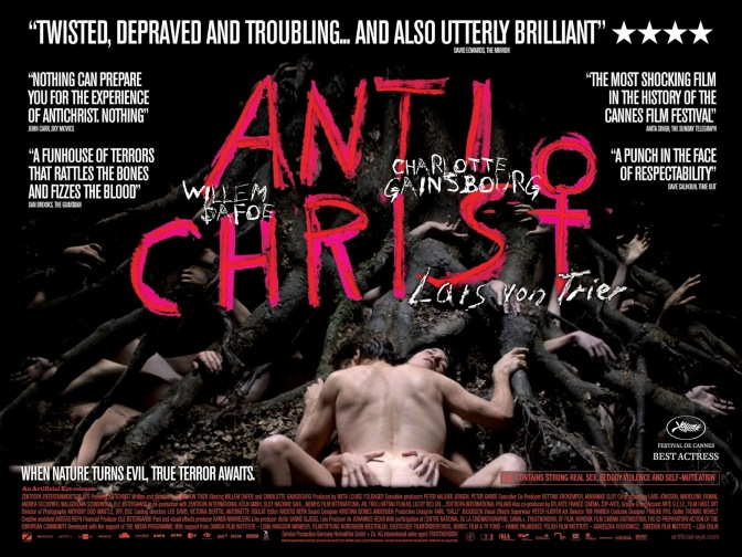 Anticristo (de Lars Von Trier) – Resenha: O Caos Reina!