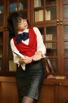 cosplay mizuho onegai teacher sexy ecchi gostosa namachoko chocoball (13)