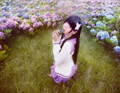 Cosplay Sankarea by Inushio