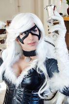 Dy Chan cosplay gata negra sexy 3