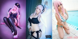 super sonico cosplay wallpaper
