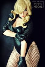 Black Canary Cosplay by Its-Raining-Neon canario negro cosplay 1