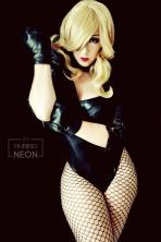 Black Canary Cosplay by Its-Raining-Neon canario negro cosplay 4