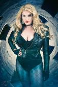 Callie Cosplay Canário Negro black canary cosplay sexy 3