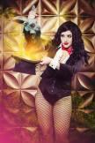 Callie Cosplay Zatanna sexy gata2