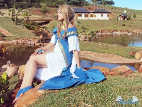 Cosplay Belldandy Angel-Arwen (Brasil)