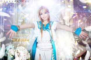 Cosplay Belldandy Momoren