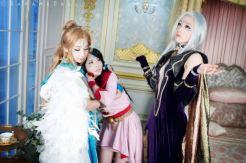 Cosplay Belldandy Momoren Skuld Chara Urd Naru oh my goddess cosplay (9)