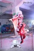 Cosplay Inori Sakurahime sexy ecchi 7