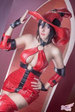 Dalin cosplay I-no bruxa gostosa
