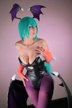 Dalin cosplay (mexicana) cosplay Morrigan