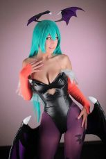 Dalin cosplay (mexicana) cosplay Morrigan