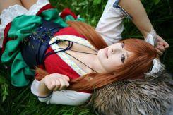 KANA cosplay horo spice and wolf gostosa (1)