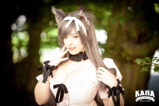 KANA gatinha costosa cosplay (2)