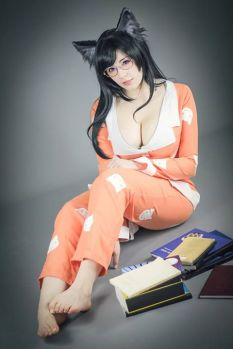 KANA hanekawa cosplay (1)