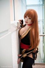 Kasumi 'Black' Dead or Alive Cosplay KANA 4