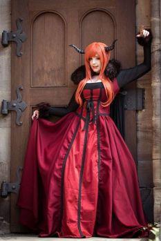 Maou cosplay gostosa peitos KANA (2)