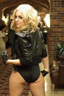 Nicole Marie Jean cosplay black canary canario negro gata (5)