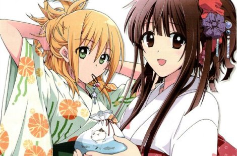 É da Kyoto Animation, os mesmos produtores de Chuunibyou