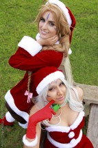 starship belldandy cosplay sexy Christmas natal Nayigo Cosplay urd Christmas natal