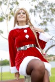 starship belldandy cosplay sexy Christmas natal